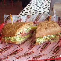 Photo taken at Firehouse Subs by Alli S. on 7/3/2012