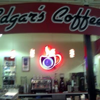 Photo taken at Edgar's Coffee Shop by Judson M. on 7/12/2012