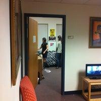 Photo taken at Carrollton Hall - Loyola University by Hannah G. on 2/4/2012