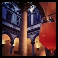 Photo taken at Caffe' Giacosa a Palazzo Strozzi by Costanza G. on 3/31/2012