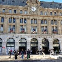 Photo taken at Paris Saint-Lazare Railway Station by Dean O. on 4/22/2012