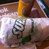 Photo taken at SUBWAY® by Claudia B. on 7/13/2012