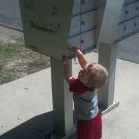Photo taken at Woods of Britton Mailboxes by Cory S. on 5/17/2012