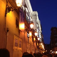 Photo taken at Teatro Español by Miriam M. on 3/24/2012