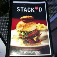 Photo taken at Stack'd Burger Bar by Jon A. on 6/8/2012