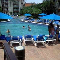 Photo taken at Hacienda Hotel & Spa by Sergio B. on 8/5/2012