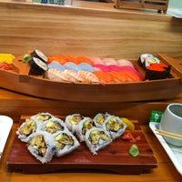 Photo taken at Dong Hae Sushi Bar by Brenda L. on 5/5/2012