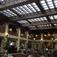 Photo taken at The Davenport Hotel by Alan A. on 3/23/2012