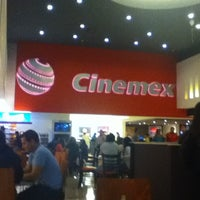 Photo taken at Cinemex by Andrea M. on 7/9/2012