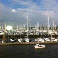 Photo taken at Lymington Yacht Haven by James on 7/21/2012