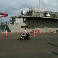 Photo taken at HTMS Chakri Naruebet by Tiida K. on 5/6/2012