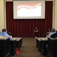 Photo taken at McBride Hall by Matthew H. on 3/30/2012