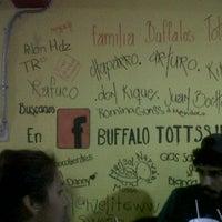 Photo taken at Buffalo tottss by Orlando K. on 5/17/2012