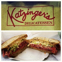 Photo taken at Katzinger's Delicatessen by Kristian V. on 7/3/2012