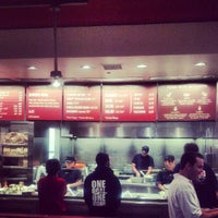 Photo taken at Chipotle Mexican Grill by David G. on 8/1/2012