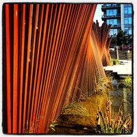 Photo taken at Tanner Springs Park by Mohit G. on 7/6/2012