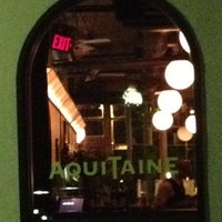 Photo taken at Aquitaine by Keith V. on 6/22/2012
