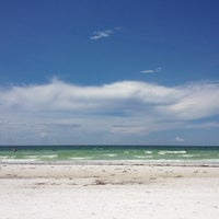 Photo taken at Siesta Key Beach by Vane G. on 8/6/2012