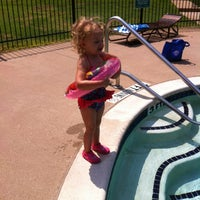 "Photo taken at Saddle Creek - Back Pool by Stephanie ""Brock"" B. on 8/18/2012"