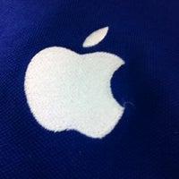 Photo taken at Apple by Derek C. on 4/4/2012