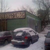 Снимок сделан в Автосервис «10х12» пользователем Igor M. 2/25/2012