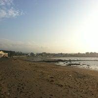 Photo taken at Iho Taewu Beach by Hongkyu P. on 8/30/2012