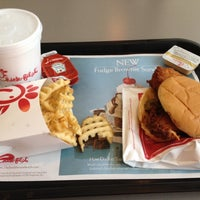 Photo taken at Chick-fil-A North Collins Street by Edward M. on 6/4/2012