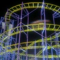 Photo taken at Luna Park Marina Carrara by Sire G. on 8/12/2012