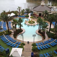 Photo taken at Wyndham Grand Orlando Resort-Bonnet Creek by Mathew on 7/23/2012