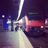 Photo taken at Zurich Airport Railway Station by Katz U. on 9/5/2012