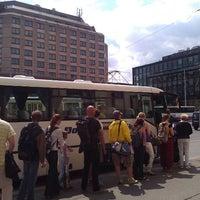Photo taken at Dejvická (bus) by microsonic on 5/4/2012