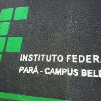 Photo taken at IFPA - Instituto Federal de Educação, Ciência e Tecnologia do Pará by Jazz L. on 3/13/2012