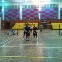 Photo taken at Dewan Besar Kompleks Rakan Muda,Besut by wan f. on 3/1/2012