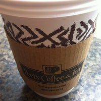 Photo taken at Peet's Coffee & Tea by Bowwe Y. on 4/25/2012