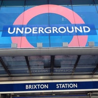 Photo taken at Brixton London Underground Station by Marcelo A. on 6/26/2012