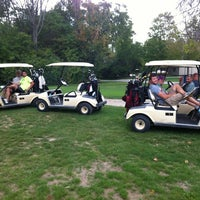 Photo taken at Crooked Lake Golf Course by Ryan O. on 8/26/2012