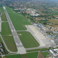 Photo taken at Treviso-Sant'Angelo Airport (TSF) by Marco 6. on 5/17/2012
