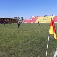 Photo taken at Estádio Mun. Pref. José Liberatti by Marco V. on 8/18/2012