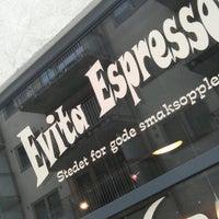 Photo taken at Evita Espressobar by Frank R. on 2/16/2012
