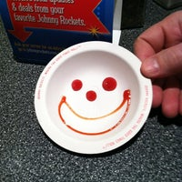 Photo taken at Johnny Rockets by Maddie C. on 2/11/2012