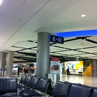 Photo taken at Terminal E by Damiano S. on 2/18/2012