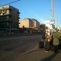 Photo taken at Dejvická (bus) by Adam J. on 3/26/2012