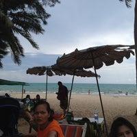 Photo taken at Mae Rumphueng Beach by Tuktik T. on 4/15/2012