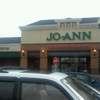 Photo taken at JOANN Fabrics and Crafts by Benjamin M. on 2/12/2012
