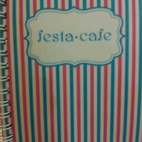 Photo taken at Festa Cafe by Acoustic L. on 8/15/2012