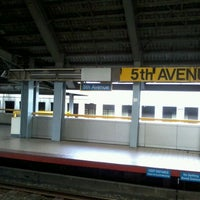 Photo taken at LRT 1 (5th Avenue Station) by Bert C. on 3/28/2012