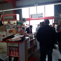 Photo taken at Adolf Würth Gmbh & Co.KG by Lutz H. on 3/9/2012