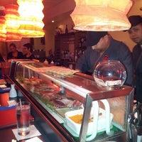 Photo taken at Ikebana Sushi Bar - Carolina by Luis (alidan) O. on 7/28/2012