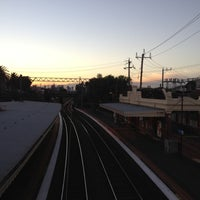 Photo taken at Armadale Station by Howard M. on 6/1/2012