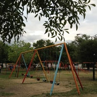 Photo taken at Parque Mariano Escobedo by Octavio R. on 4/9/2012